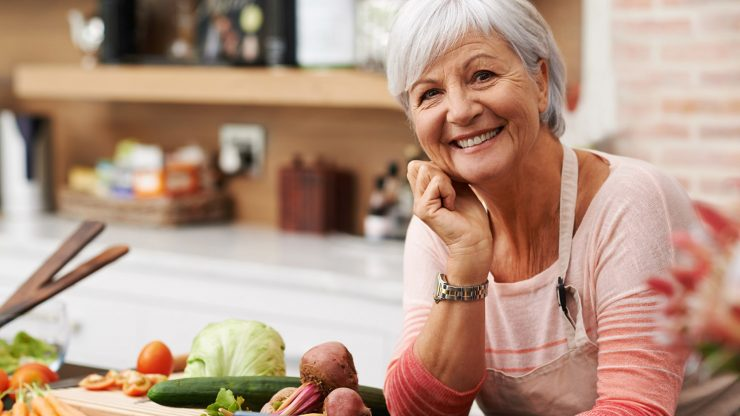 Healthy Aging starts with Healthy Eating